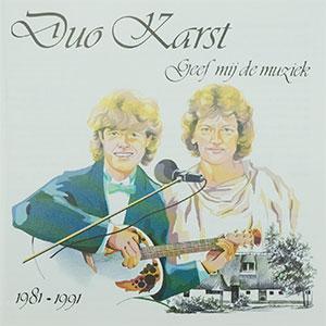 Duo Karst – Geef mij de muziek